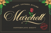 Marchell font download