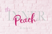 The Inner Peach Duo font download