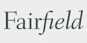 Fairfield font download