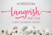 Langrish Duo font download