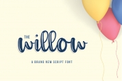 The Willow Script font download
