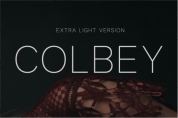 Colbey Extra Light font download