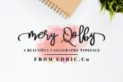 Mery Qolby font download
