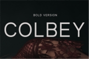 Colbey Bold font download