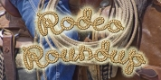 Rodeo Roundup font download