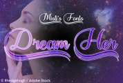 Dream Her font download
