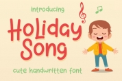 Holiday Song font download
