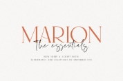 Marion & the Essentials font download