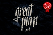 Great Man font download