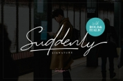 Suddenly Family font download