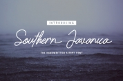 Southern Javanica font download