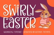 Swirly Easter font download