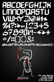Bad Axe font download