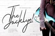 The Jacklyn font download