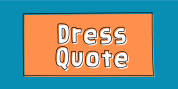 Dress Quote font download