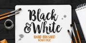 Black and White font download