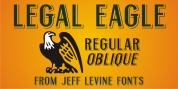 Legal Eagle JNL font download