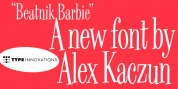 Beatnik Barbie font download