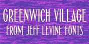 Greenwich Village JNL font download