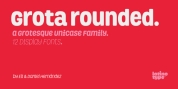 Grota Rounded font download