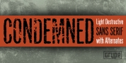 Condemned font download