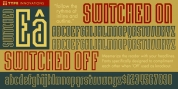 Switched On font download