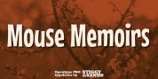 Mouse Memoirs Pro font download
