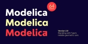 Bw Modelica font download