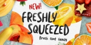 Freshly Squeezed font download