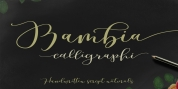 Bambia Script font download