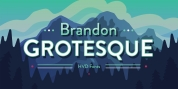 Brandon Grotesque font download