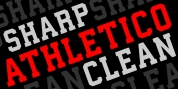 Athletico Clean font download