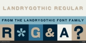 LandryGothic font download