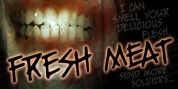 Fresh Meat BB font download