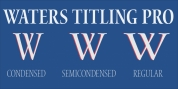 Waters Titling Pro font download