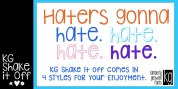 KG Shake it Off font download