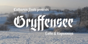 Gryffensee font download