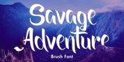 Savage Adventure font download