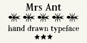 Mrs Ant font download