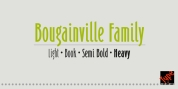 Bougainville font download