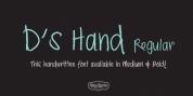 Ds Hand font download