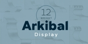 Arkibal Display font download
