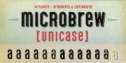 Microbrew Unicase font download