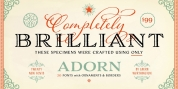 Adorn Collection font download