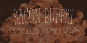 Bacon Buffet font download