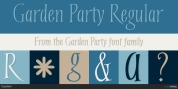 Garden Party font download
