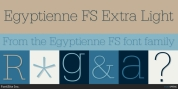 Egyptienne FS font download