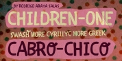 CHILDREN 1 font download