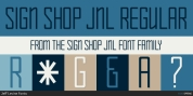 Sign Shop JNL font download