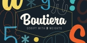 Boutiera font download